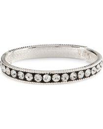 Montana Silversmiths Crystal Shine Bangle Bracelet, , hi-res