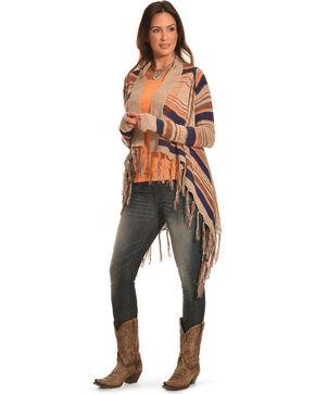 Petrol Women's Earth Wrap Shawl, Natural, hi-res