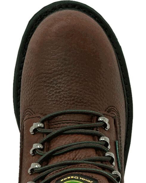 John Deere Waterproof Lace Up Work Boots, Brown, hi-res