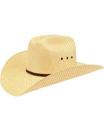 Ariat Childrens' Double S Straw Cowboy Hat, , hi-res