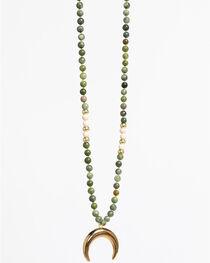 Everlasting Joy Women's Golden Heart Necklace, , hi-res