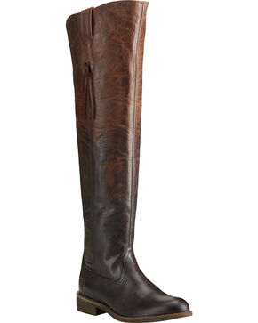 Ariat Women's Farrah Tall Boots, Chocolate, hi-res