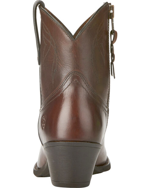 Ariat Women's Dark Brown Darlin Boots - Medium Toe, Dark Brown, hi-res