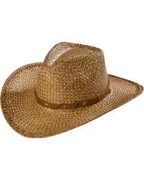 Scala Tea Moroca Straw Cowboy Hat, , hi-res