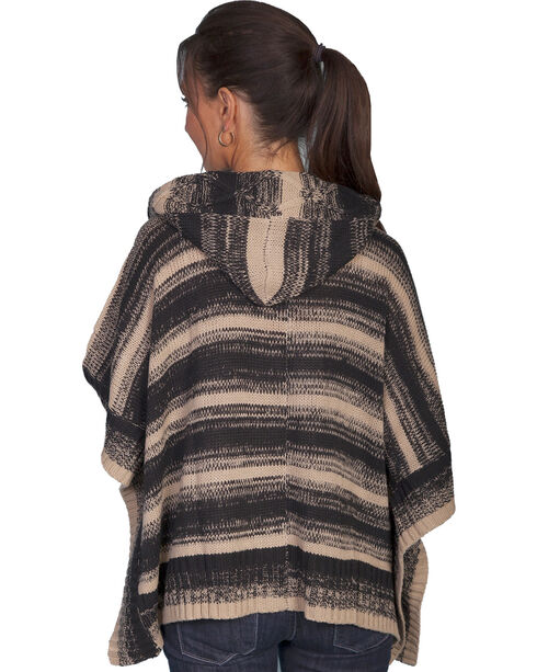 Scully Women's Poncho-Style Hooded Sweater, , hi-res