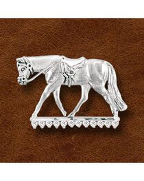 Kelly Herd Sterling Silver English Horse Pendant, , hi-res