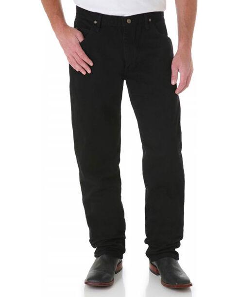 Wrangler Men's Premium Performance Cowboy Cut Jeans, Black, hi-res