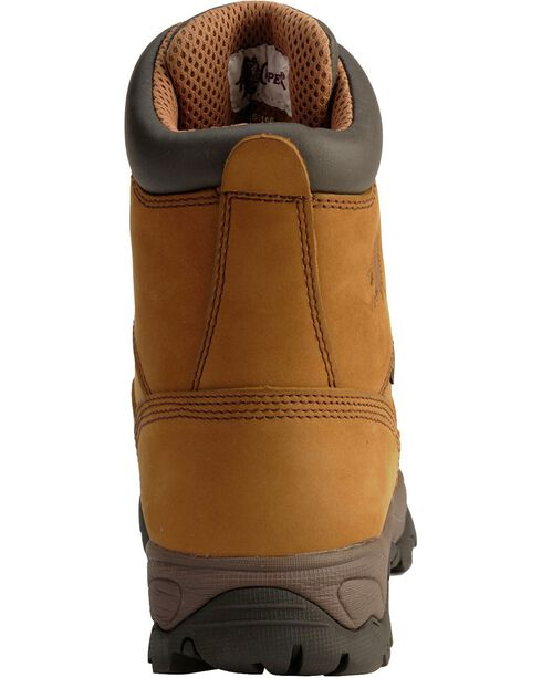 Chippewa Men's Safety Toe Waterproof Work Boots, Bay Apache, hi-res