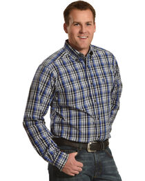 Ariat Men's Brookwood Pro Series Fitted Long Sleeve Shirt, , hi-res