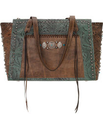 American West Women's Rio Grande Zip-Top Tote , , hi-res
