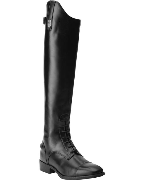 Ariat Women's Monaco Field Zip English Boots, Black, hi-res