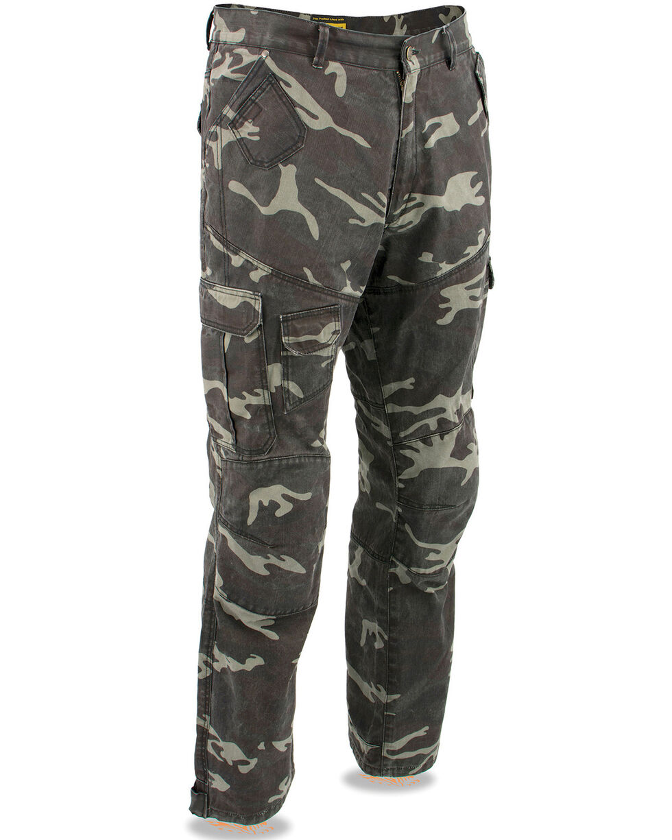 "Milwaukee Performance Men's 34"" Aramid Reinforced Camo Cargo Jeans - Big, Camouflage, hi-res"