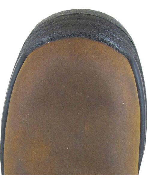 Smoky Mountain Men's Brushfield Camo Wellington Waterproof Work Boots - Steel Toe, Brown, hi-res