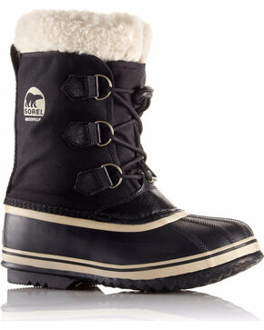 Sorel Kids' Yoot Pac Winter Boots, Black, hi-res