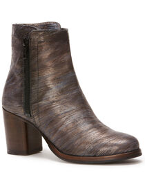 Frye Women's Pewter Addie Double Zip Boots - Round Toe , , hi-res
