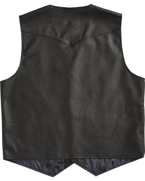 Cody James Men's Black Deadwood Vest , Black, hi-res