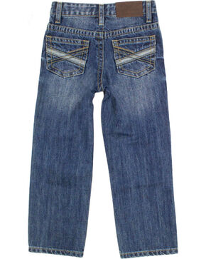 Cody James® Boys' Medium Wash Straight Leg Jeans, Blue, hi-res