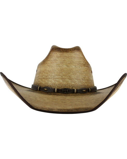 Cody James® Men's Ponderosa Straw Hat, Natural, hi-res