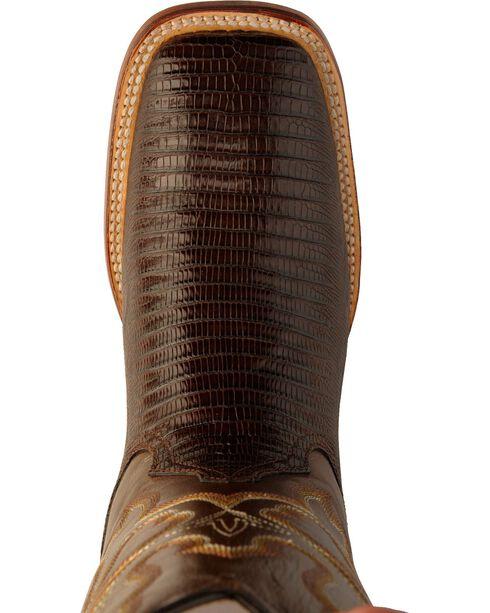 Ferrini Men's Aztec Cowboy Western Boots, Chocolate, hi-res