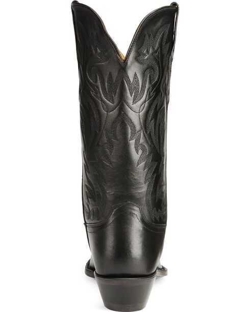 "Jama Men's Fashion Wear 12"" Western Boots, Black, hi-res"