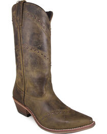 Smoky Mountain Women's Crystal Western Boots - Snip Toe , , hi-res
