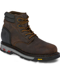 Justin Men's Drywall Waterproof Work Boots, , hi-res