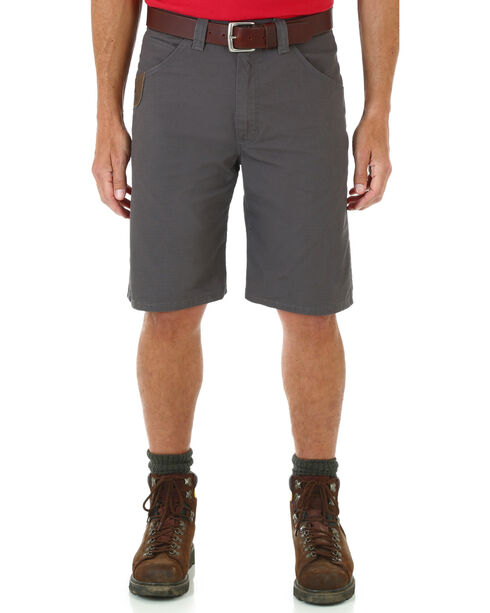 Wrangler Men's RIGGS WORKWEAR® Technician Shorts - Big and Tall , Charcoal Grey, hi-res