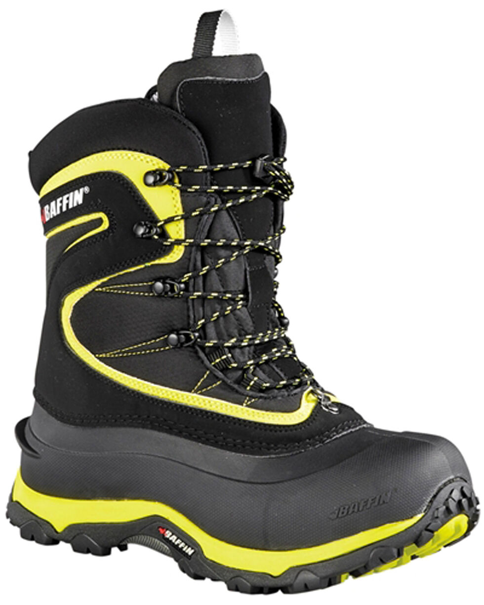 Baffin Men's Revelstoke Cold Weather Boots - Round Toe, Black, hi-res