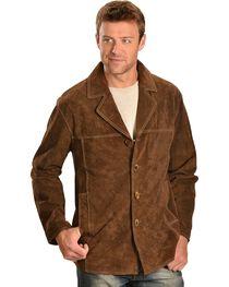 Scully Men's Boar Suede Car Coat, , hi-res