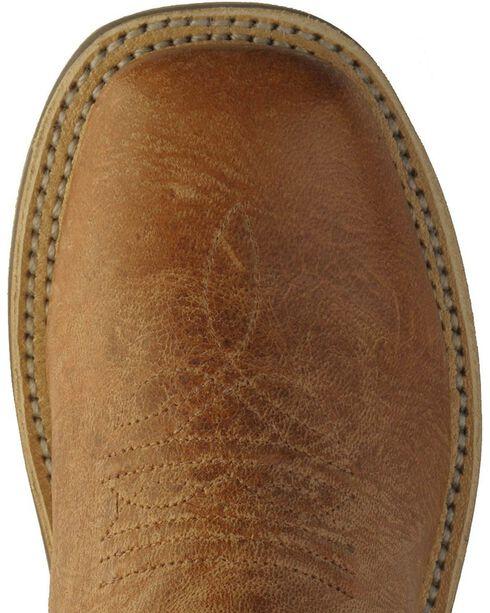 Jama Children's Broad Square Toe Boots, Tan, hi-res