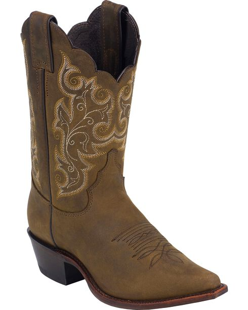Justin Women's Classic Western Boots, Bay Apache, hi-res