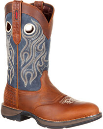 Durango Men's Rebel Saddle Western Boots, , hi-res
