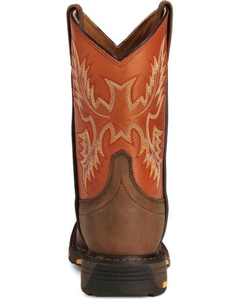 Ariat Boys' Earth Workhog Cowboy Boots, Earth, hi-res