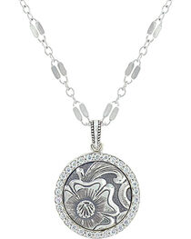 Sterling Lane Women's Daisy Vignette Necklace , , hi-res