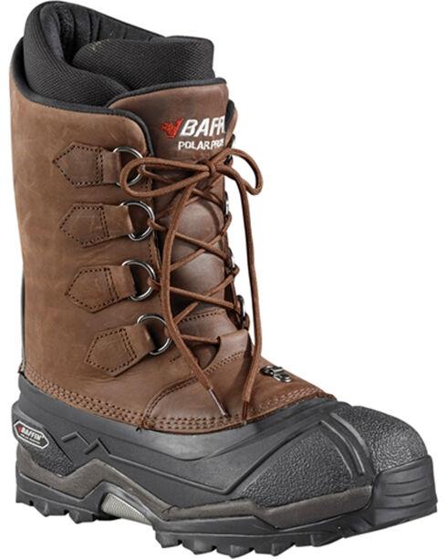 Baffin Men's Control Max Snow Boots, Brown, hi-res