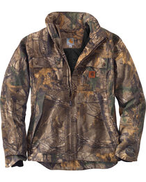 Carhartt Men's Quick Duck Camo Traditional Jacket, , hi-res