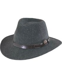 Outback Trading Co. Collingsworth UPF50 Sun Protection Crushable Wool Hat, , hi-res