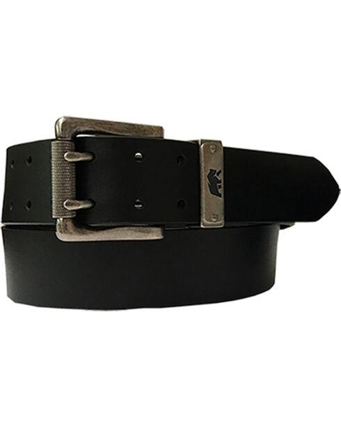 Berne Mens' Buffalo Leather Belt , Black, hi-res
