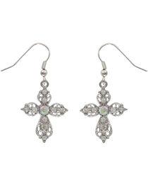 Shyanne® Women's Victorian Cross Earrings, , hi-res