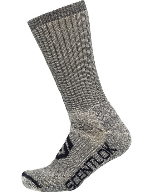 Scentlok Technologies Men's Thermal Boot Socks, Grey, hi-res