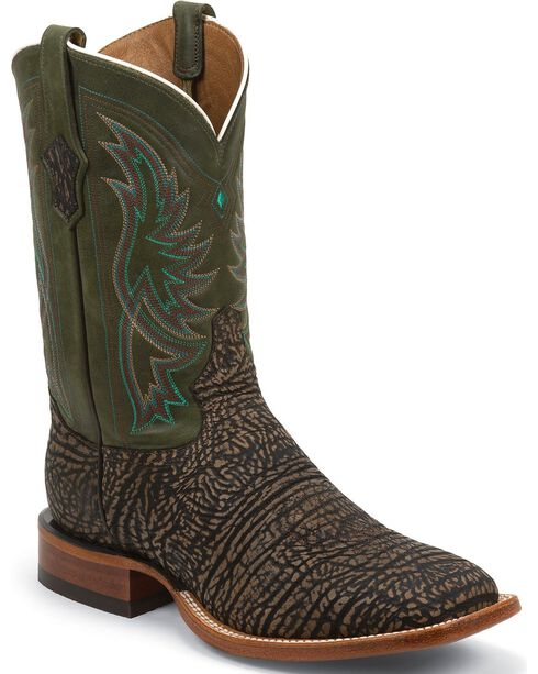 Tony Lama Men's Maverick Square Toe Boots, Bark, hi-res