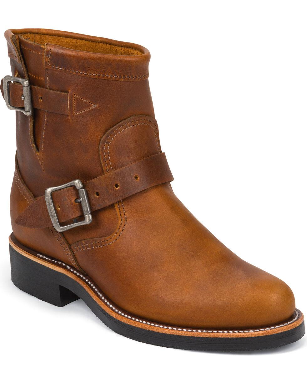 Chippewa Women's Renegade Engineer Boots, Tan, hi-res