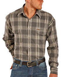 Powder River by Panhandle Men's Long Sleeve Flannel, , hi-res