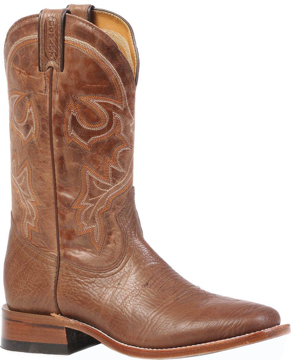 "Boulet Men's Square Toe 12"" Western Boots, Brown, hi-res"