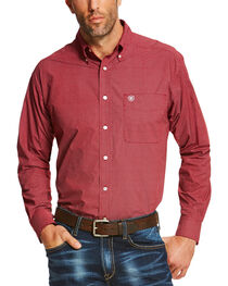 Ariat Men's Ruby Shafter Long Sleeve Western Shirt - Tall , , hi-res