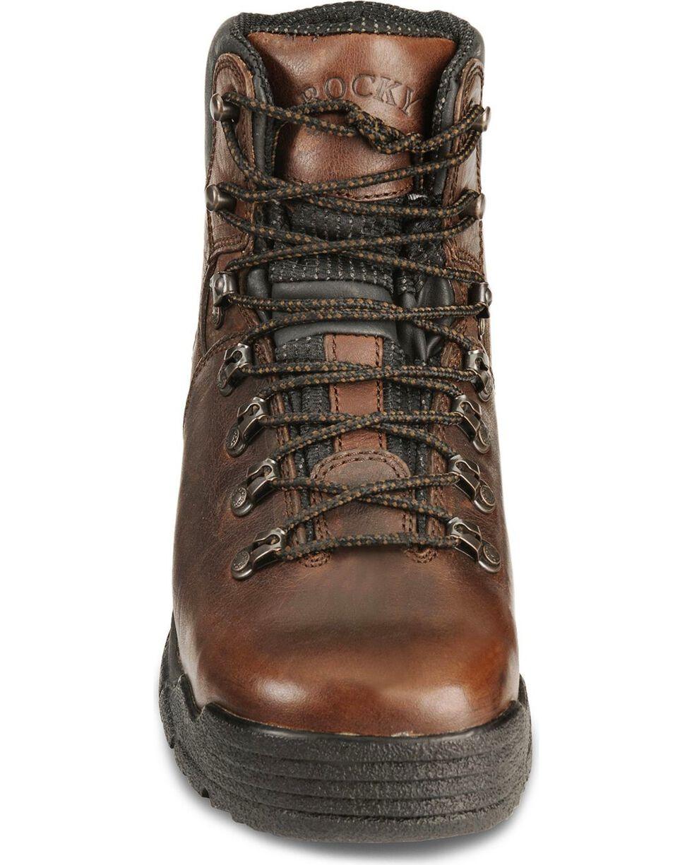 Rocky Men's Mobilite Steel Toe Hiking Boots, Brown, hi-res