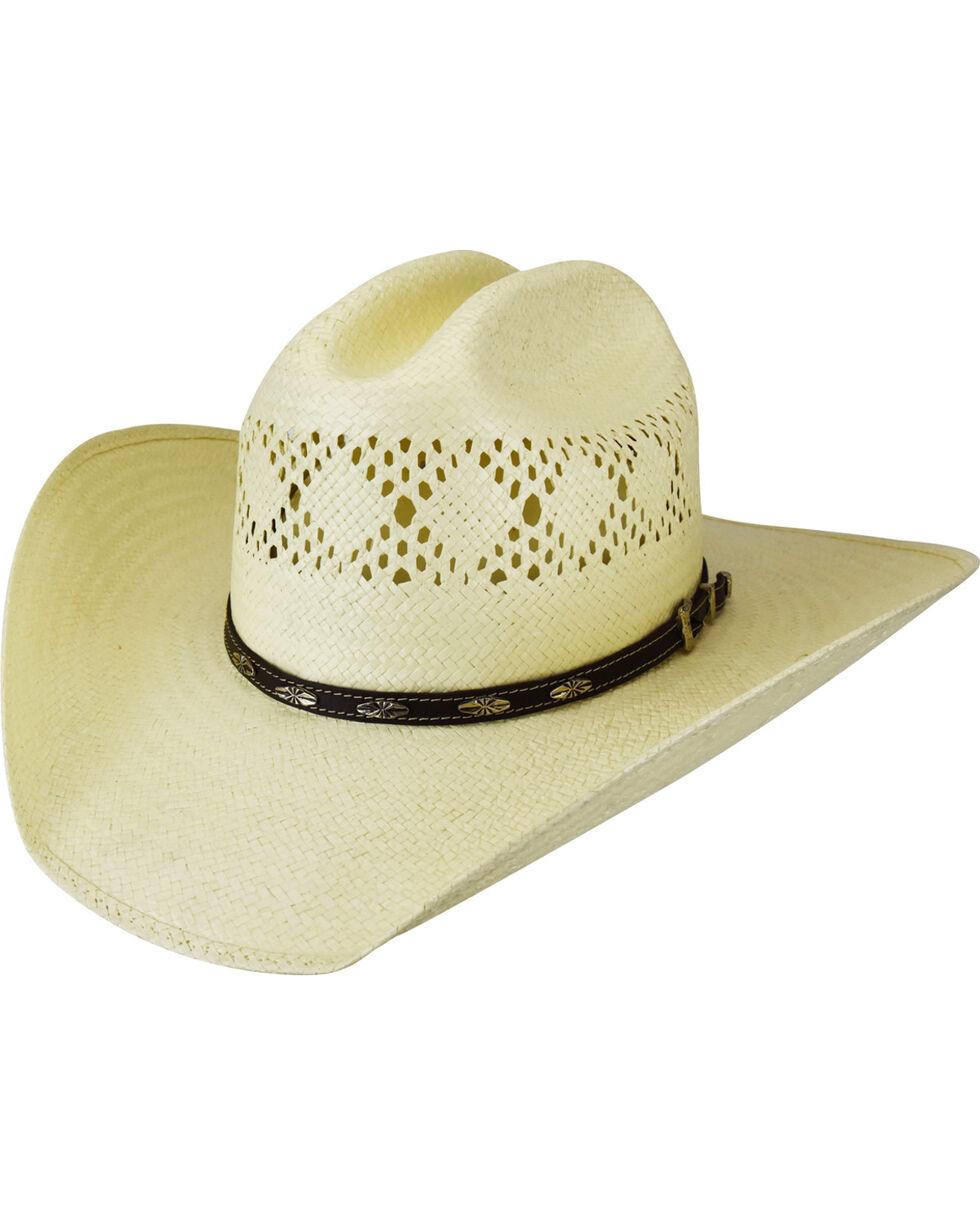 Bailey Men's Shawnee Diamond Vented Western Hat, Natural, hi-res