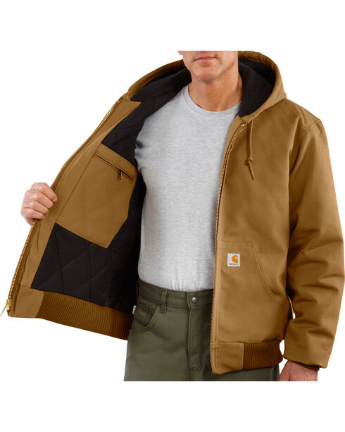Carhartt Quilted Flannel Lined Duck Active Jacket, , hi-res