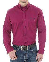 Wrangler 20X Advanced Comfort Solid Long Sleeve Shirt, , hi-res