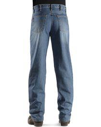 Cinch Men's Black Label Relaxed Fit Stonewash Jeans, , hi-res